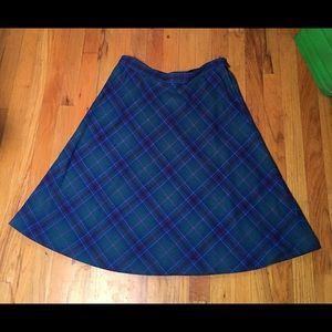Vintage Pendleton Plaid Skirt sz 16